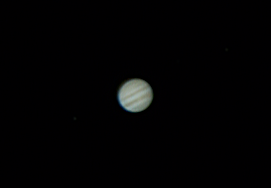 My final image of Jupiter, created from video processed by Registax